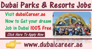 Dubai Parks and resorts jobs