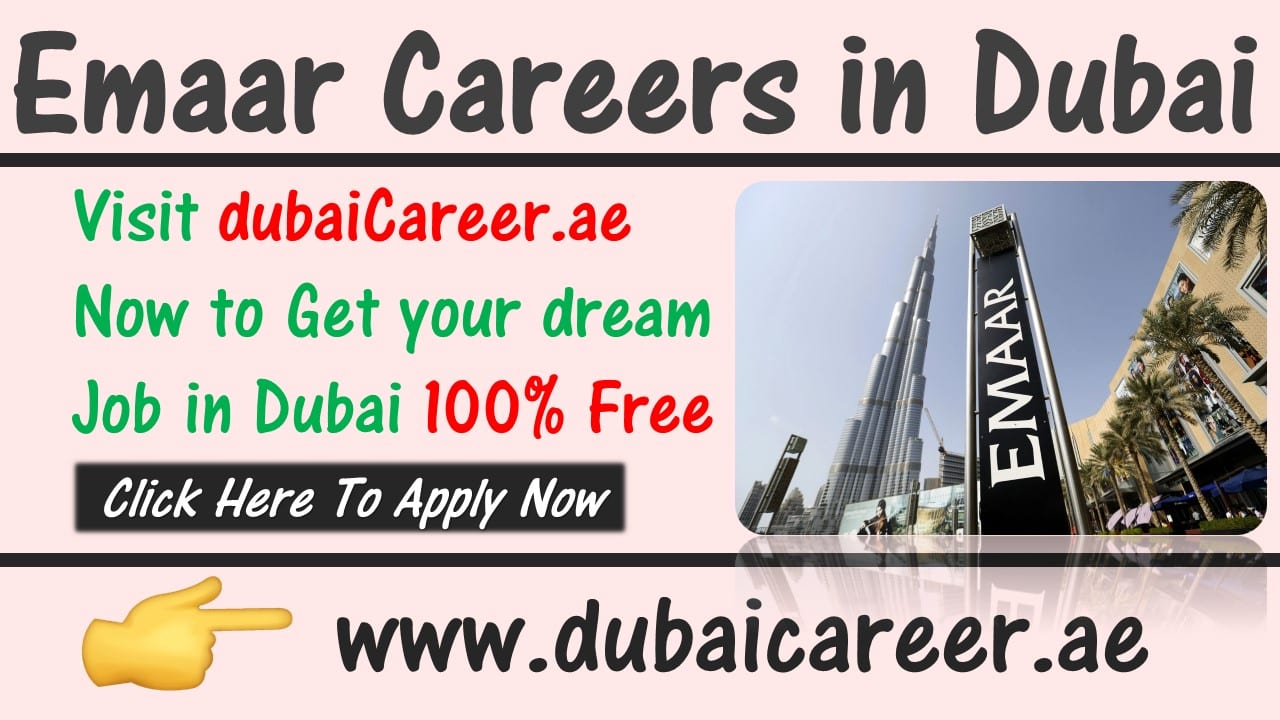 Emaar careers in Dubai