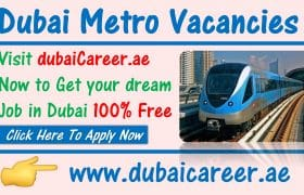Metro jobs in Dubai