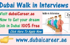 Dubai Walk in interviews