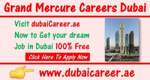 Grand Mercure Hotel Careers Dubai