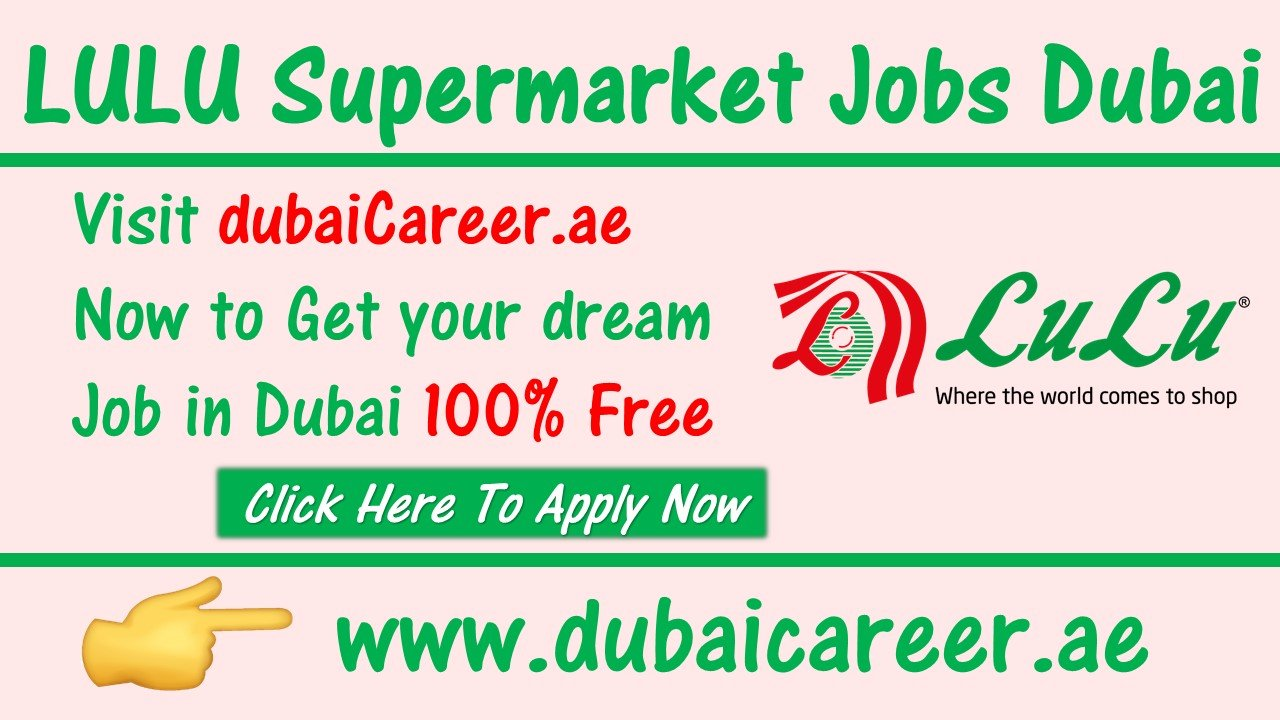 Lulu Jobs in Dubai