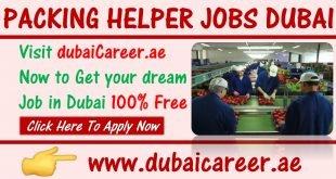 Packing helper jobs in Dubai